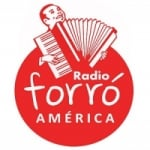 Logo da emissora Rádio Forró América