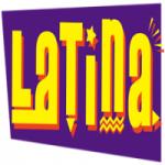 Logo da emissora Rádio Latina Brasil