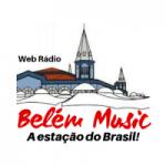 Logo da emissora Web Rádio Belém Music