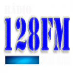 Logo da emissora Rádio 128 FM