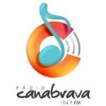 Logo da emissora Rádio Canabrava 104.9 FM