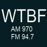 Logo da emissora WTBF 970 AM