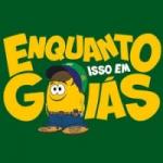 Logo da emissora Rádio Enquanto Isso Em Goiás