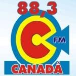 Logo da emissora Rádio Canadá 88.3 FM