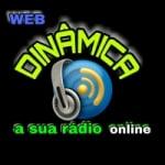 Logo da emissora Rádio Web Dinâmica FM