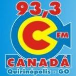 Logo da emissora Rádio Canadá 93.3 FM