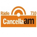 Logo da emissora Rádio Cancella 710 AM