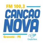 Logo da emissora Rádio Canção Nova 100.3 FM