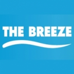 Logo da emissora Radio The Breeze 98.5 FM