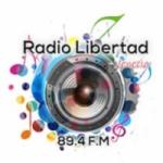 Logo da emissora Radio Libertad 89.4 FM
