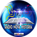 Logo da emissora Rádio Nova História