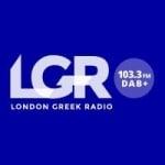 Logo da emissora London Greek Radio 103.3 FM