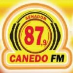 Logo da emissora Rádio Canedo 87.9 FM