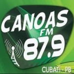 Logo da emissora Rádio Canoas 87.9 FM