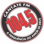 Logo da emissora Rádio Cantate 104.5 FM