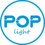 Logo da emissora Rádio Pop Light