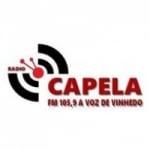 Logo da emissora Rádio Capela 105.9 FM