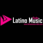 Logo da emissora Radio Latino Music