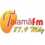 Logo da emissora Rádio Taiamã 87.9 FM