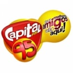 Logo da emissora Rádio Capital 95.9 FM
