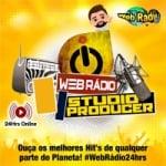 Logo da emissora Rádio Web Mix Studio Producer
