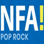 Logo da emissora Rádio NFA Pop Rock