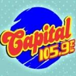 Logo da emissora Rádio Capital 105.9 FM