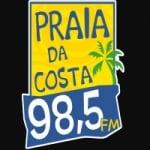 Logo da emissora Rádio Praia da Costa 98.5 FM