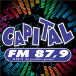 Logo da emissora Rádio Capital 87.9 FM