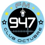 Logo da emissora Radio Club Octubre 94.7 FM