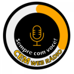 Logo da emissora Cem Web Rádio