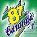 Logo da emissora Rádio Carandá 87.9 FM
