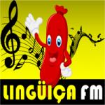 Logo da emissora Rádio Linguiça FM