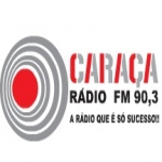 Logo da emissora Rádio Caraça 90.3 FM
