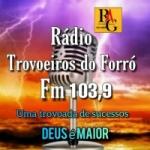 Logo da emissora Rádio Trovoeiros Do Forró FM