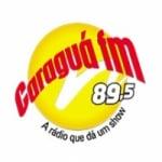 Logo da emissora Rádio Caraguá 89.5 FM