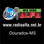 Logo da emissora Web Rádio Alfa