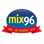 Logo da emissora Radio Mix 96 FM