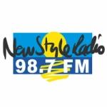 Logo da emissora Radio New Style 98.7 FM
