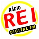 Logo da emissora Rádio Rei FM