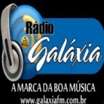 Logo da emissora Rádio Galáxia