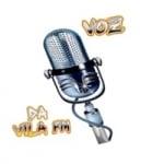 Logo da emissora Rádio Voz da Vila