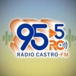 Logo da emissora Rádio Castro 95.5 FM