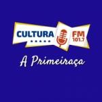 Logo da emissora Rádio Cultura 101.7 FM