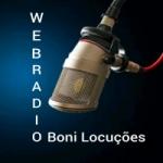 Logo da emissora Web Rádio Boni Locuções