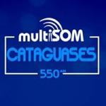 Logo da emissora Rádio Multisom Cataguases 550 AM