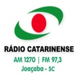 Logo da emissora Rádio Catarinense 1270 AM