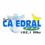 Logo da emissora Rádio Catedral 102.1 FM