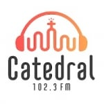 Logo da emissora Rádio Catedral 102.3 FM