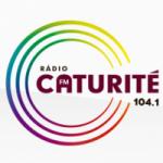 Logo da emissora Rádio Caturité 104.1 FM